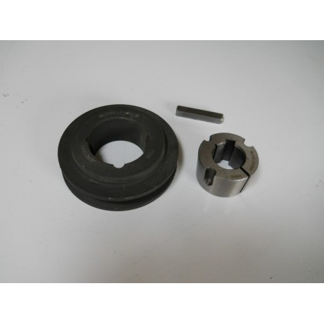 V Pulley with a Taper Lock Bush & Keyway