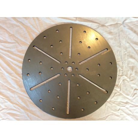 welding positioner plate